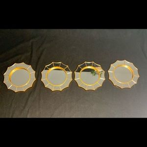 Set of 4 accents mirror